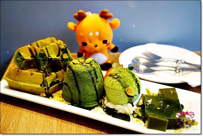 香港旺角美食》Pheromone Dessert。抹茶甜點精選在地口味/鬆餅心太軟冰淇淋/香港自由行/下午茶咖啡