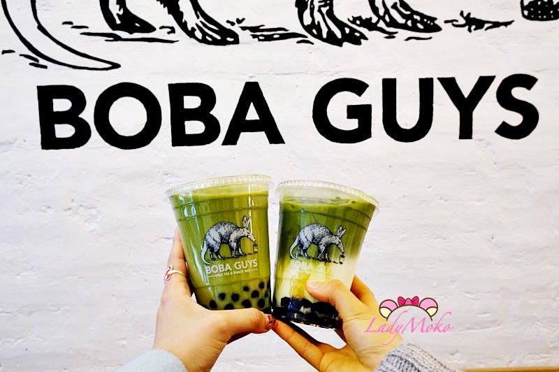 抹茶控美國紐約自由行》Boba Guys♥紐約也喝得到好喝的珍珠抹茶牛奶/西村