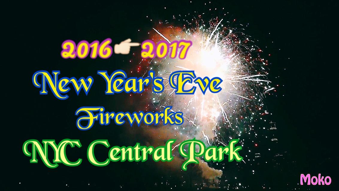 2016紐約中央公園跨年煙火影音♥完全不用人擠人也不用提前卡位/私房無遮蔽物看煙火地點