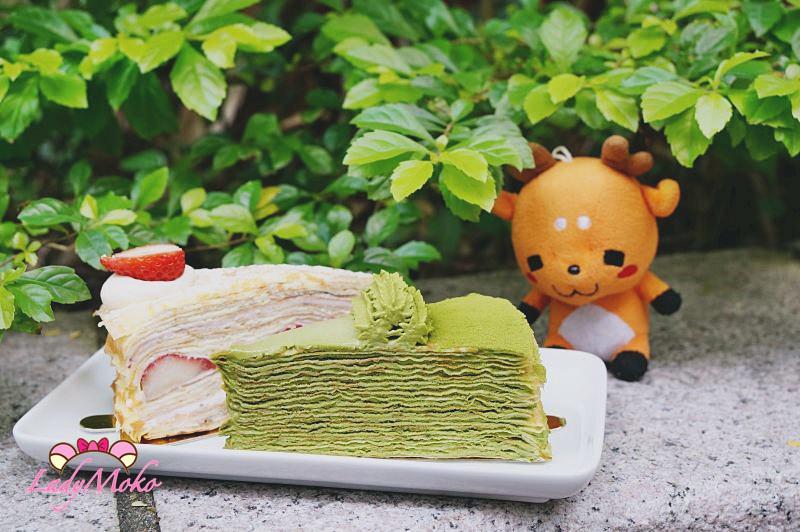 台北網路秒殺限量千層蛋糕推薦》時飴Approrité,草莓與抹茶兩種完美搭配♥