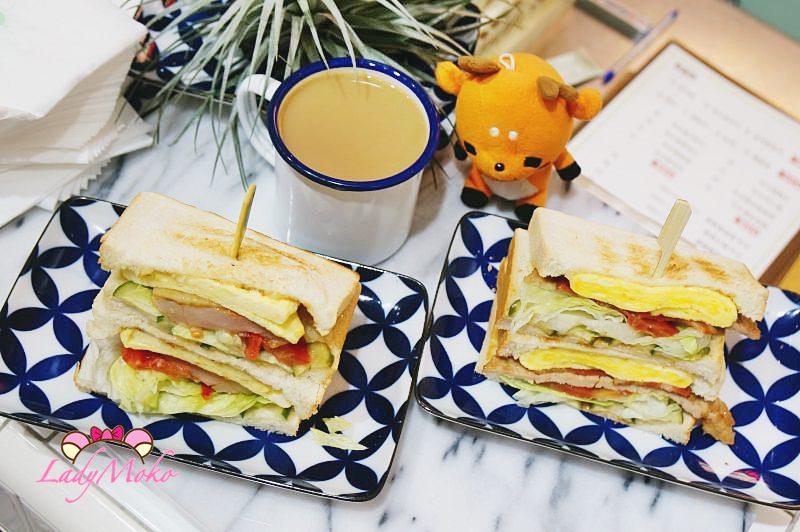 西門町早餐碳烤三明治》山文治,今天早餐很文青。台北萬華