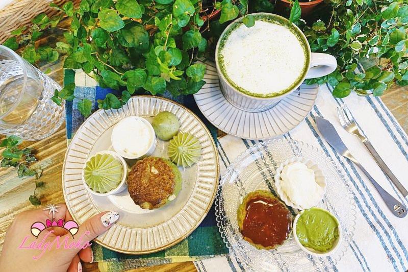 忠孝復興甜點》悄悄好食早餐室,超厲害抹茶司康遇上抹茶馬林糖♥