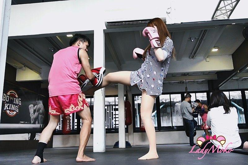 曼谷Boxing King泰拳教室》爆汗!我跟退役泰國拳王學泰拳!