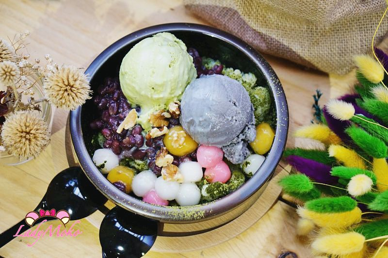 桃園冰店》有食候紅豆, 創新x古早味x工業x日式x乾燥花