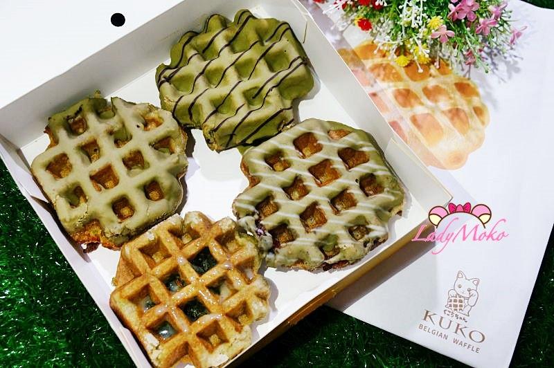 北車外帶美食甜點》KUKO比利時鬆餅專賣店,瘋狂抹茶控的全口味心得評價