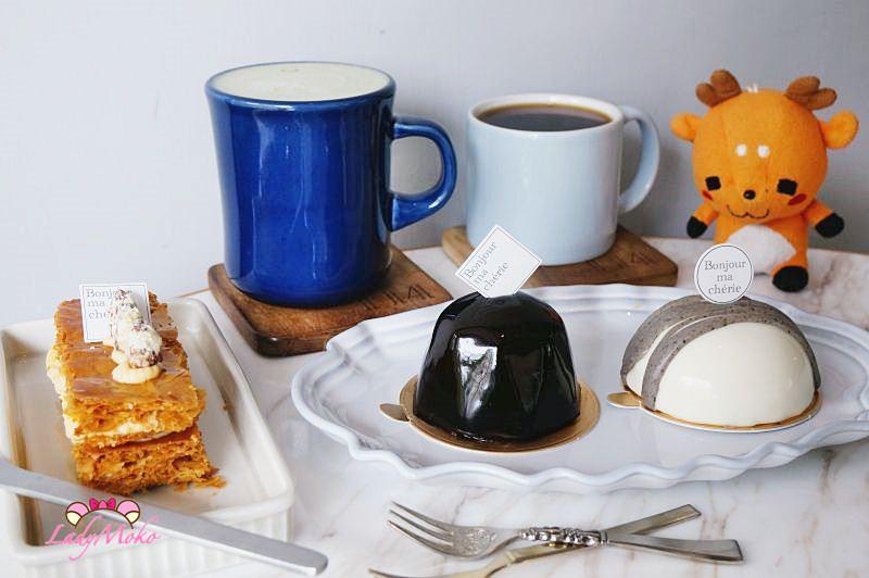 東區法式甜點手沖咖啡》114 x Bonjour ma chérie,巷弄中的巴黎,捷運忠孝復興下午茶