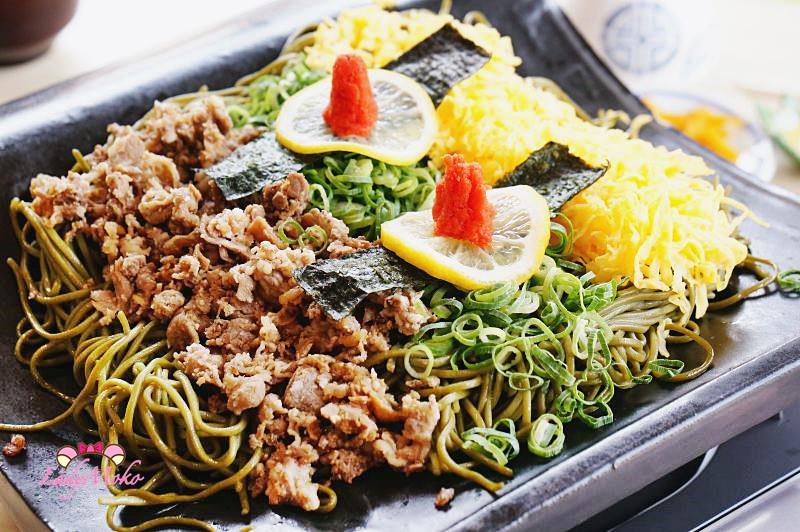 山口縣美食》長州苑 瓦蕎麥,瓦片上的家鄉料理,月薪嬌妻愛的料理