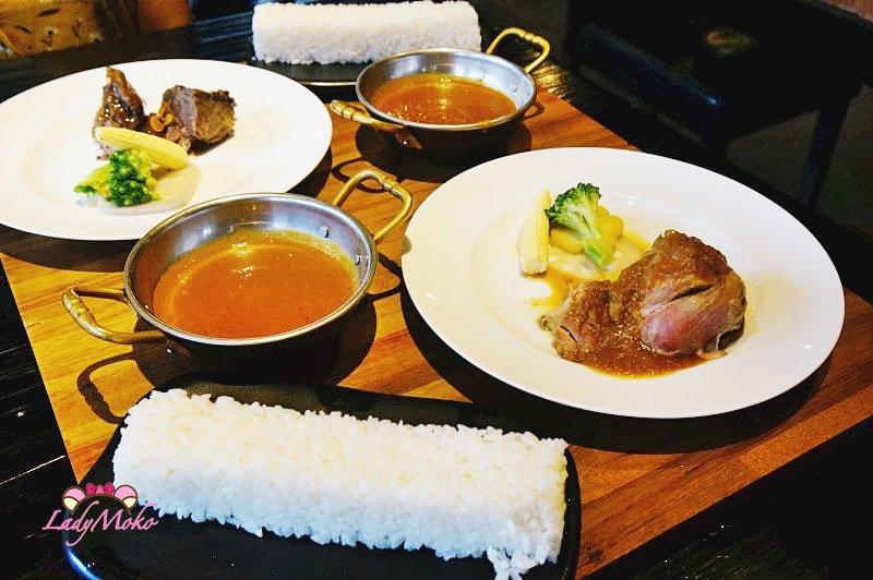 台北小巨蛋咖哩飯推薦》咖哩娘,真材實料製作香料咖哩,醬&飯無限免費吃到飽,台北松山