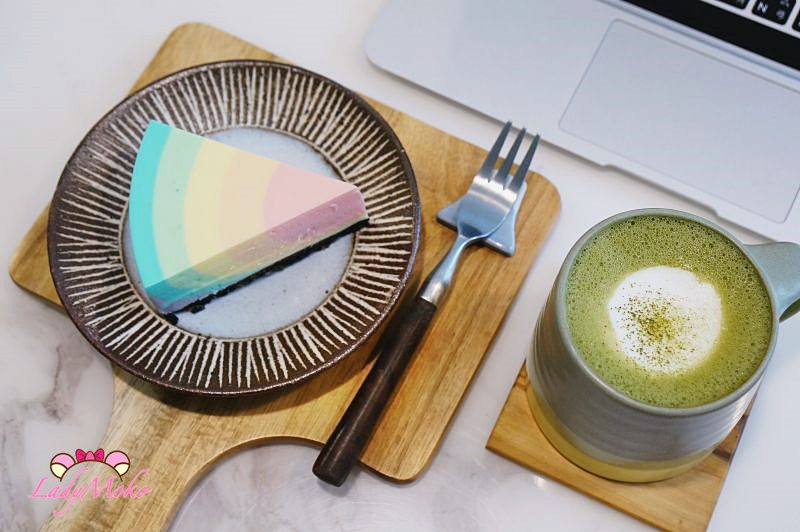 忠孝新生手沖咖啡廳》漸漸咖啡店,彩虹檸檬生乳酪夢幻又好吃,台北中正