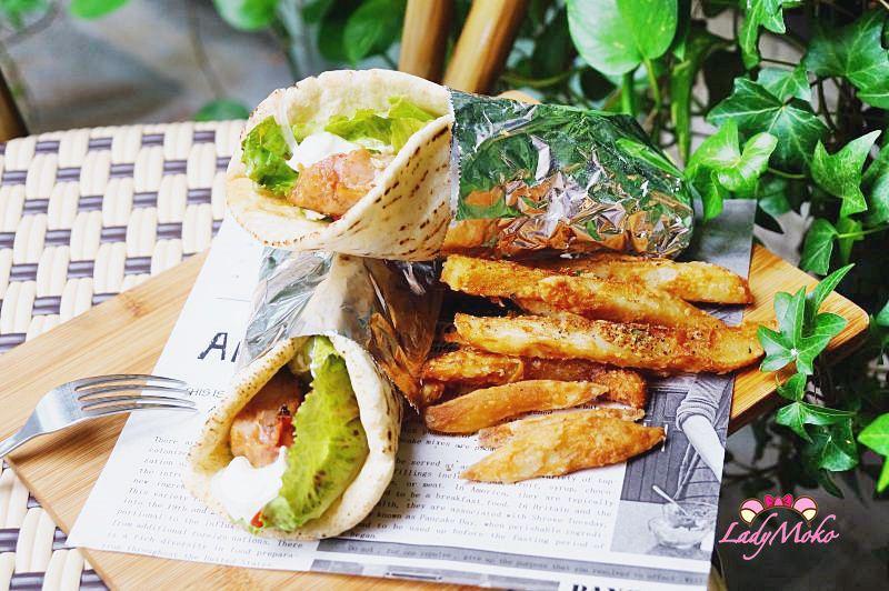 行天宮美食》Anywhere Cafe & Travel,跟著食物環遊世界的超美大理石植物牆網美拍照餐廳,台北中山
