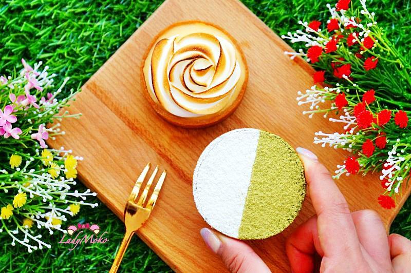 台北宅配甜點》賽門愛吃塔,抹茶控絕對會愛的抹茶生巧克力塔與酸V蛋白霜檸檬塔