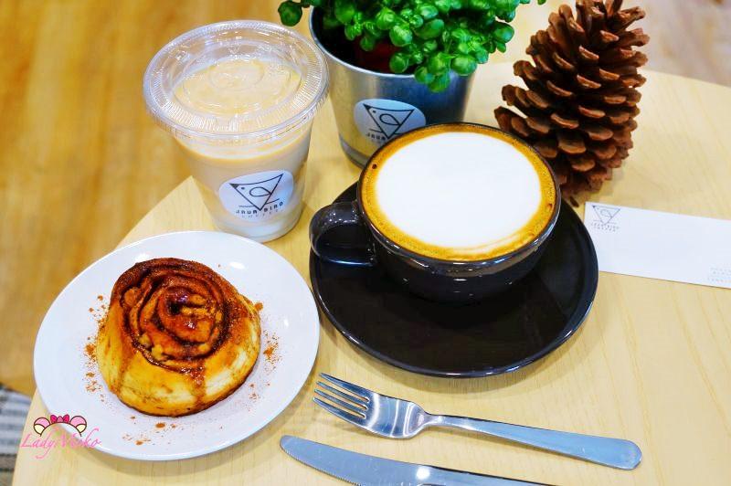六張犁質感咖啡廳》Java Bird Coffee,原葉現煮超好喝漸層鮮奶茶,手沖咖啡,肉桂卷