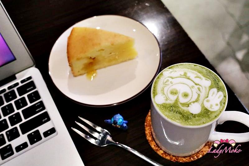 永康東門》小米酒咖啡館,絕對安靜!超可愛拉花與檸檬凝乳磅蛋糕