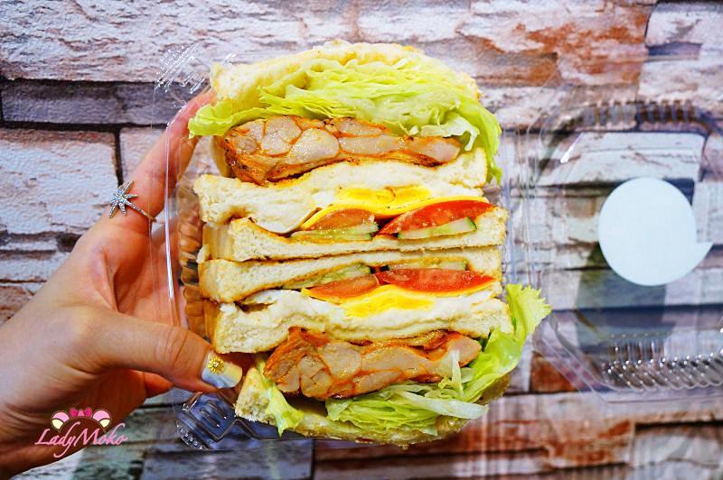 三重菜寮站》打飽嗝碳烤三明治手作甜點,超狂份量又經濟實惠