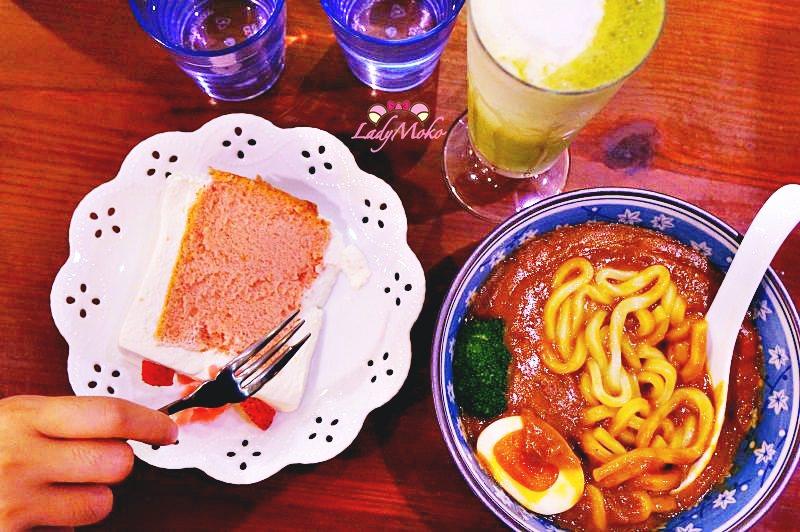中山國中》Chiffon日式手工蛋糕店,名不虛傳鮮奶油戚風蛋糕&日式超濃郁咖哩