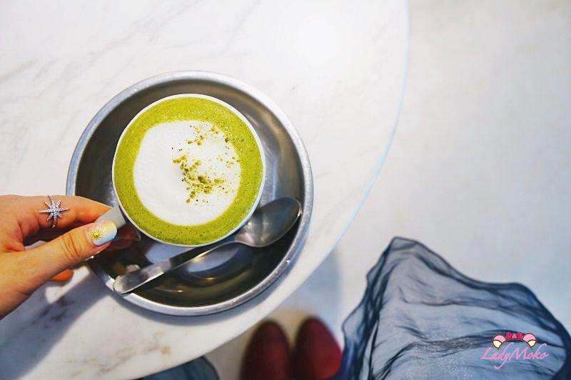 東門不限時咖啡廳》Hi Nei Dou啲家,圓鼓鼓表面張力抹茶牛奶&檸檬抹茶