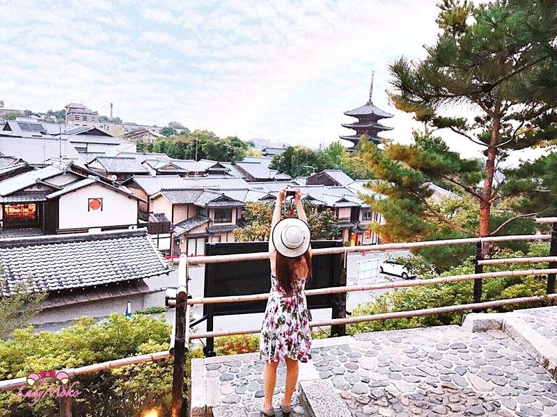 京都祕密景點》高台寺御茶所Slow Jet coffee,品飲寧靜夜京都,眺望清水寺