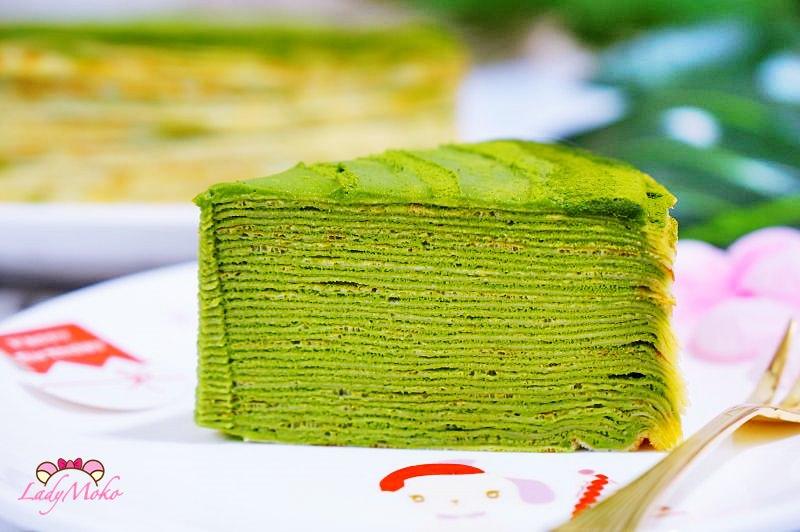 台南宅配甜點》人良千層蛋糕,抹茶控秒殺必吃1.5倍濃小山園抹茶千層