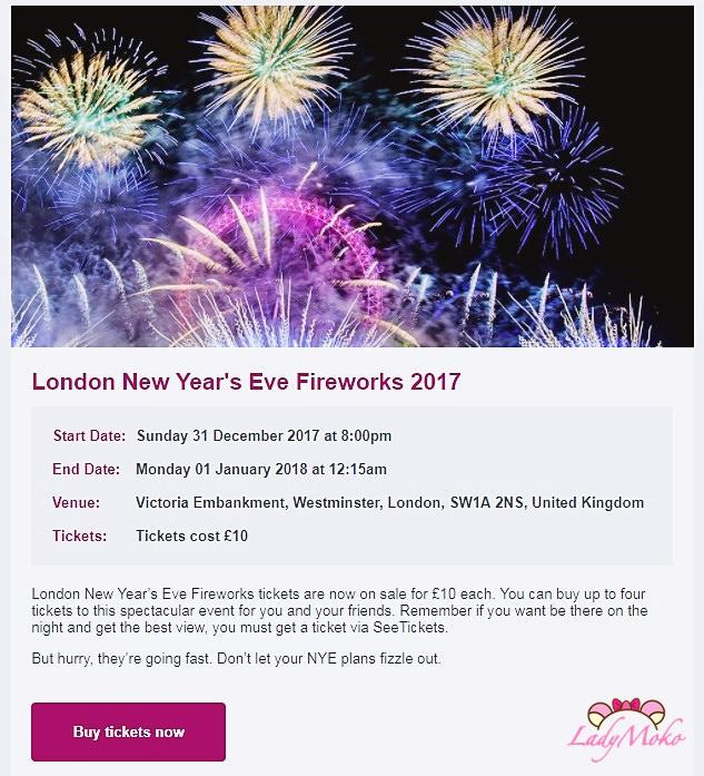 最新*2017/2018倫敦眼跨年購票攻略經驗