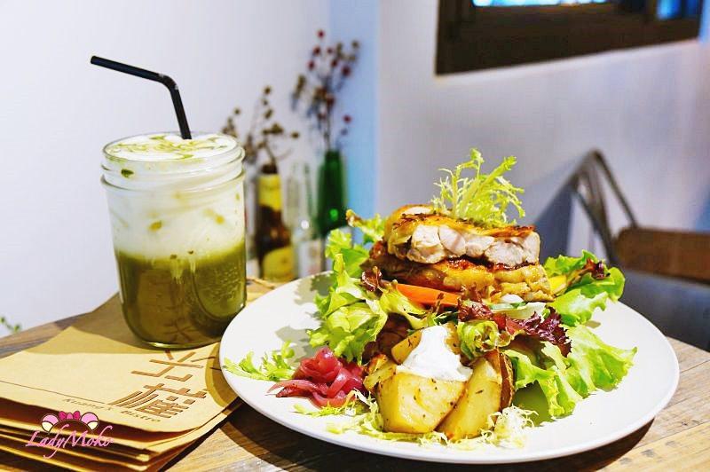 板橋優秀早午餐》光權Kuang's Bistro,丹麥北歐開面三明治&日式抹茶紅鹽歐蕾