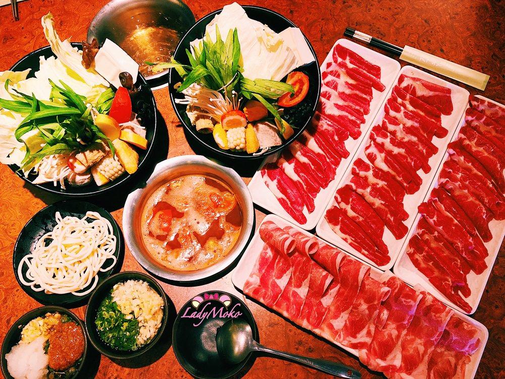 新店火鍋推薦》六六六小火鍋,超高品質平價火鍋,點鍋送肉,新鮮大菜盤