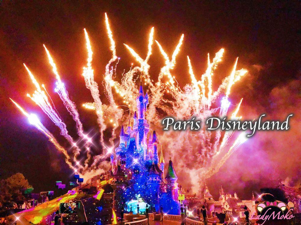 此生必看巴黎迪士尼25週年紀念絕美華麗煙火/最佳卡位時間