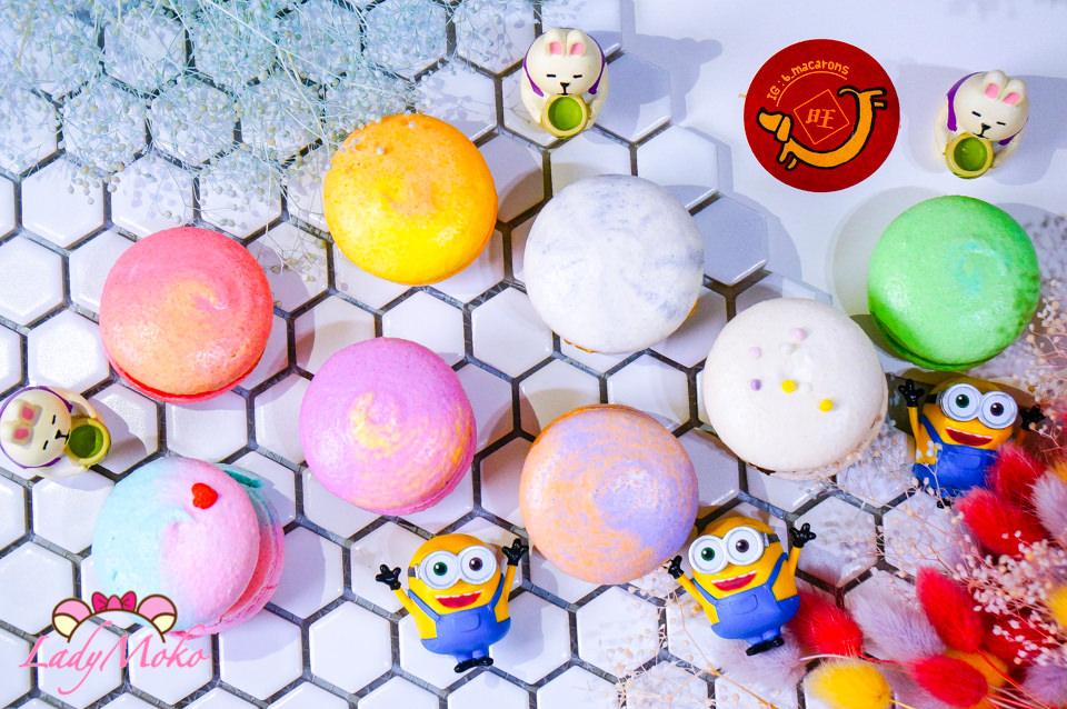 台南宅配甜點》B_macarons,超繽紛新春情人節限定禮盒8種口味一次滿足
