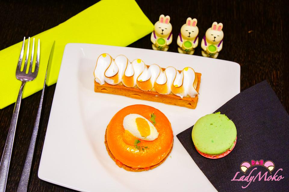 巴黎甜點推薦》Un Dimanche à Paris,超逼真橘子法式甜點,反推檸檬塔與馬卡龍