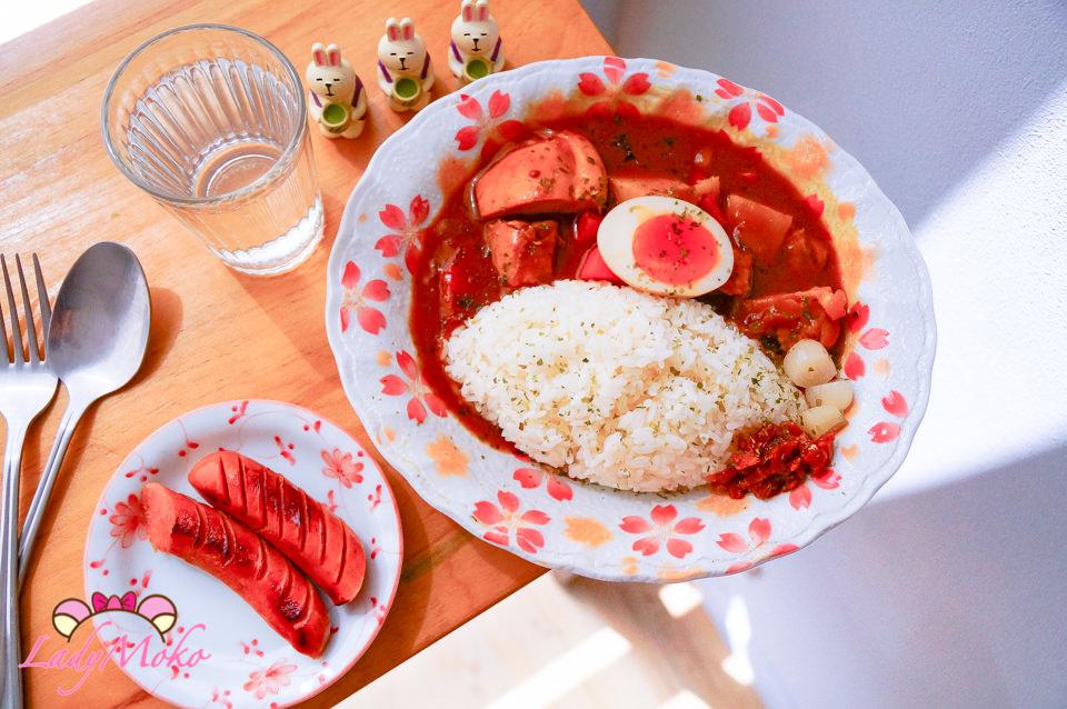 大安美食》NoName咖哩飯專賣店,鮮嫩雞肉咖哩,平價家常的溫暖美味