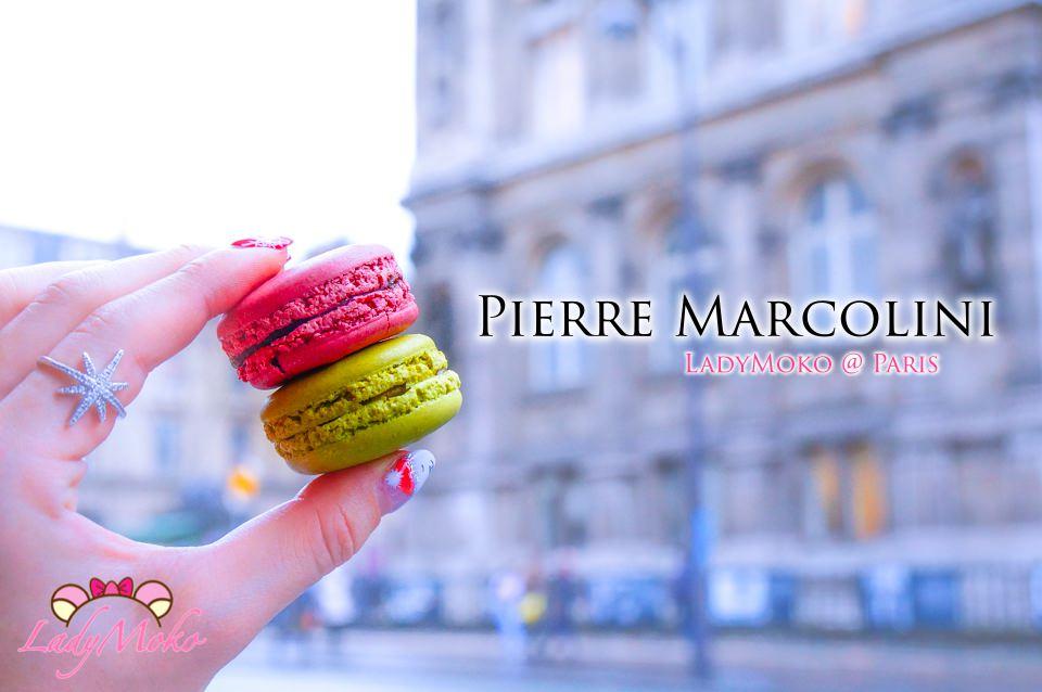 巴黎甜點推薦》Pierre Marcolini,比利時巧克力之神的馬卡龍也很神/Le BHV Marais
