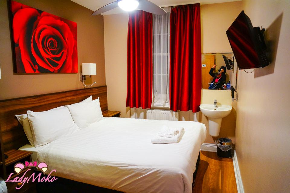 倫敦平價住宿推薦》Sheriff Hotel,漂亮舒適維多利亞車站附近超高CP值飯店