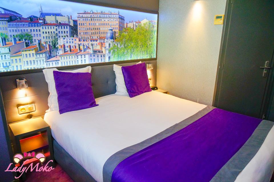 里昂飯店推薦》Hotel des Savoies,超美房間置身美麗城區,車站5分鐘距離