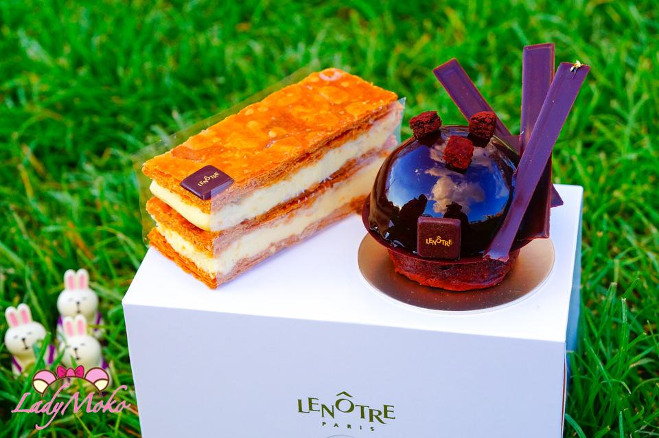 巴黎甜點推薦》LENÔTRE甜點學校法式甜點專賣,帶著甜點去艾菲爾鐵塔野餐