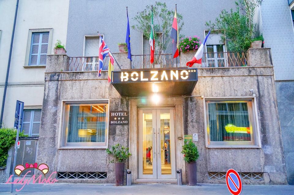 義大利米蘭平價飯店推薦》Hotel Bolzano,近中央車站治安好,美麗庭院