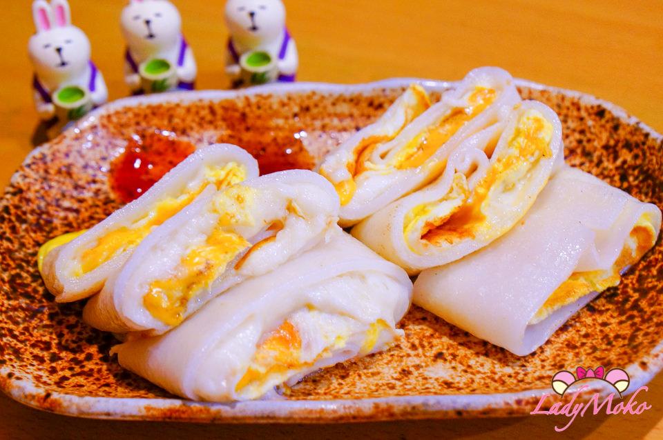 桃園中壢美食》奶BAR伙食,超好吃馬泥河粉蛋餅/中原平價早餐推薦