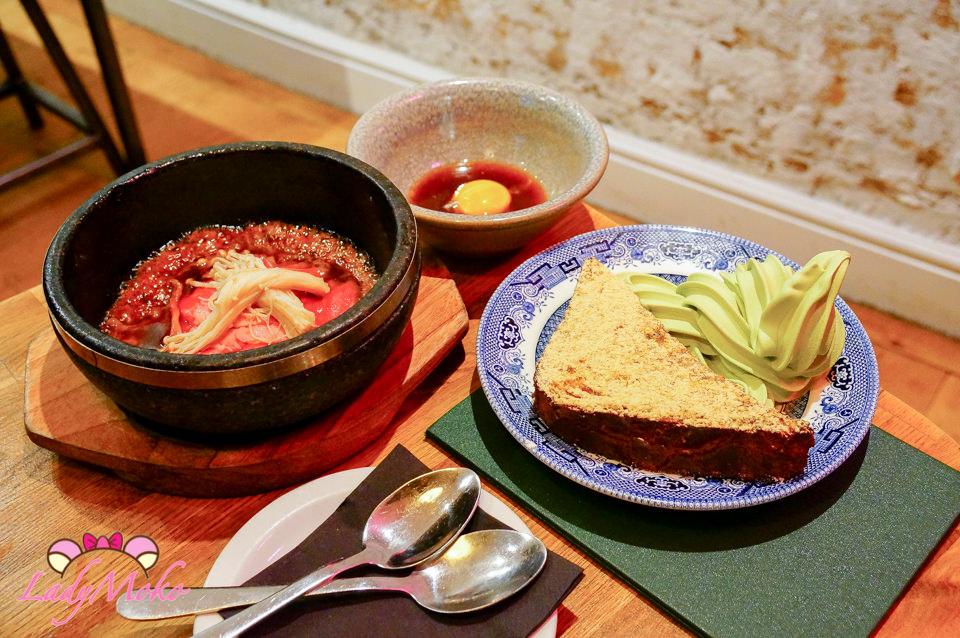 倫敦日式美食》Shackfuyu,和牛石鍋壽喜燒&抹茶霜淇淋黃豆粉法式吐司