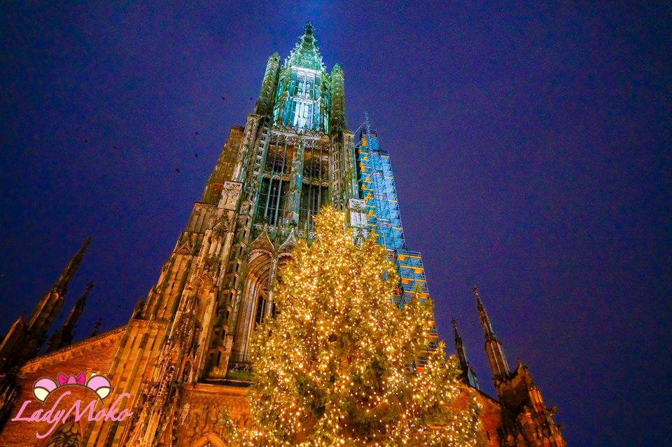 德國Ulm烏爾姆大教堂,聖誕節美到屏息的世界最高教堂