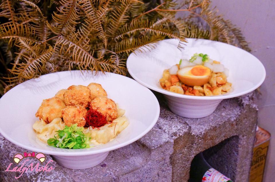 科技大樓美食》BON Meingerda & Dumpling,文青質感麵疙瘩餃子專賣店