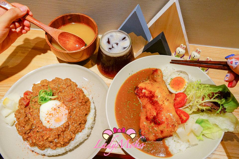 台電大樓美食》小仺館,超優秀乾咖哩飯&整隻雞腿米飯粒粒分明日式咖哩推薦