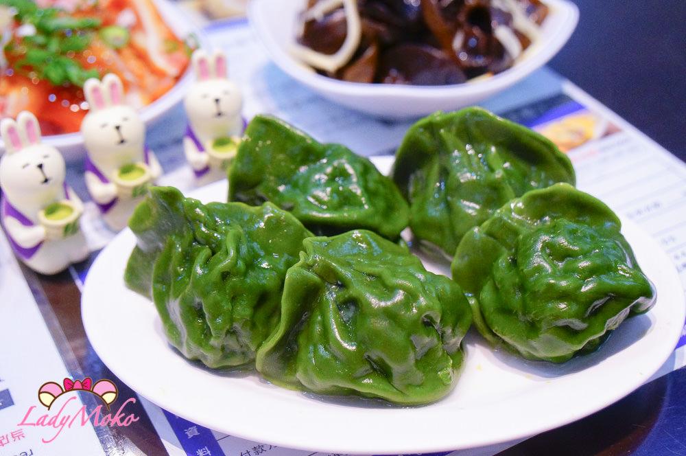 善導寺銅板美食》巧之味手工水餃,菠菜綠干貝水餃&菜香滿滿韭菜水餃