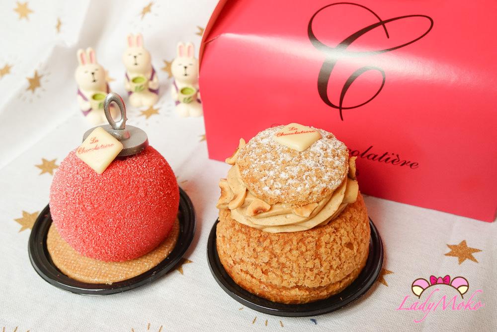 法國Tours美食》La Chocolatière,巧克力專賣法式甜點聖誕ballball&ParisBrest
