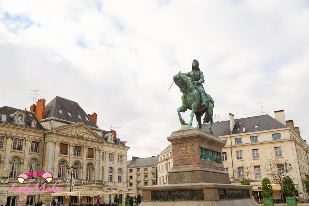法國奧爾良Orleans一日遊精華景點美食|拜訪法國女英雄聖女貞德
