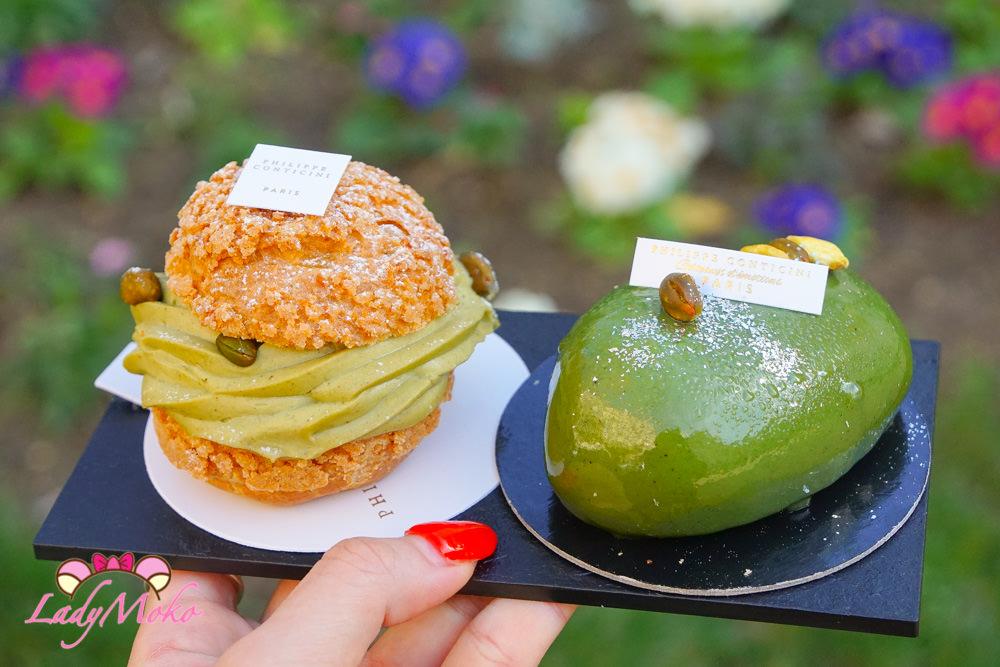 巴黎甜點|Gâteaux d'émotions – Philippe Conticini開心果Paris Brest&開心果慕斯