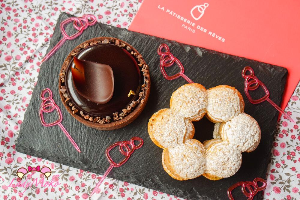 巴黎甜點|La Pâtisserie des Rêves世界冠軍夢幻甜點Paris Brest&巧克力塔
