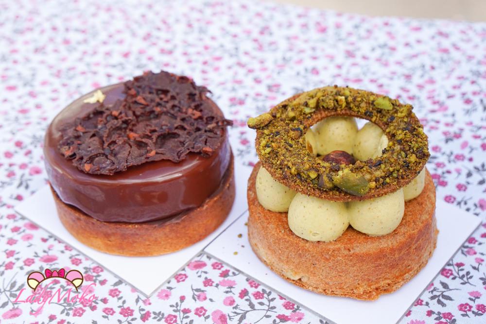 巴黎甜點|Le temps et le pain,開心果Paris Téhéran與巧克力塔,有雷要避