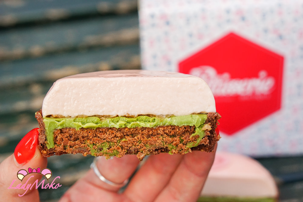 巴黎甜點|Mori Yoshida X Ladurée櫻花抹茶巧克力塔限定聯名@Fou De Patisserie