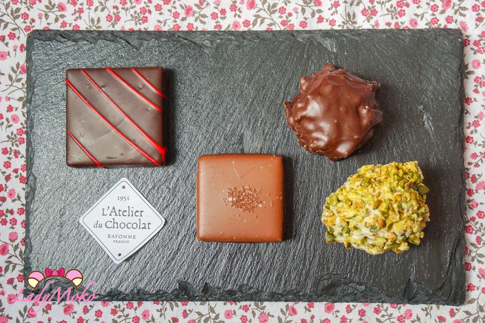 Tours杜爾甜點推薦|L'Atelier du Chocolat 巧克力專賣店