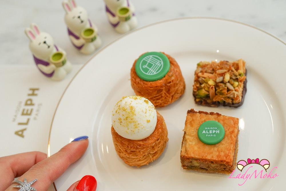 巴黎甜點|Maison Aleph,可愛超酥香好吃小鳥巢造型迷你一口甜點