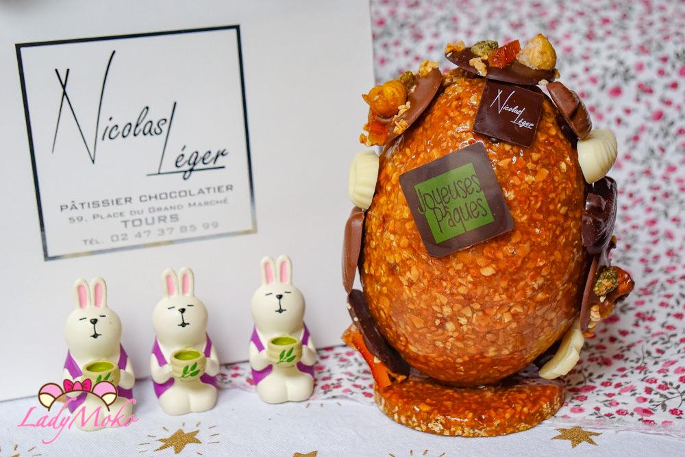 Nicolas Léger Pâtisserie|Pâques|Tours杜爾甜點推薦:復活節限定大巧克力榛果焦糖蛋