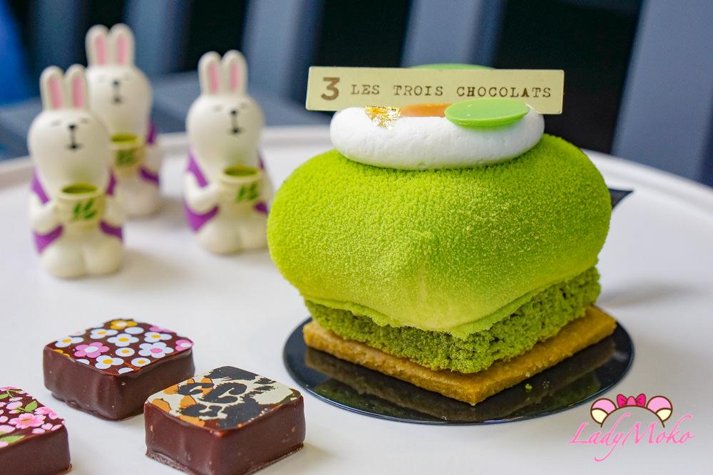 抹茶控必吃巴黎甜點|Les trois chocolats, 法式甜點Cérémoni與抹茶達克瓦茲